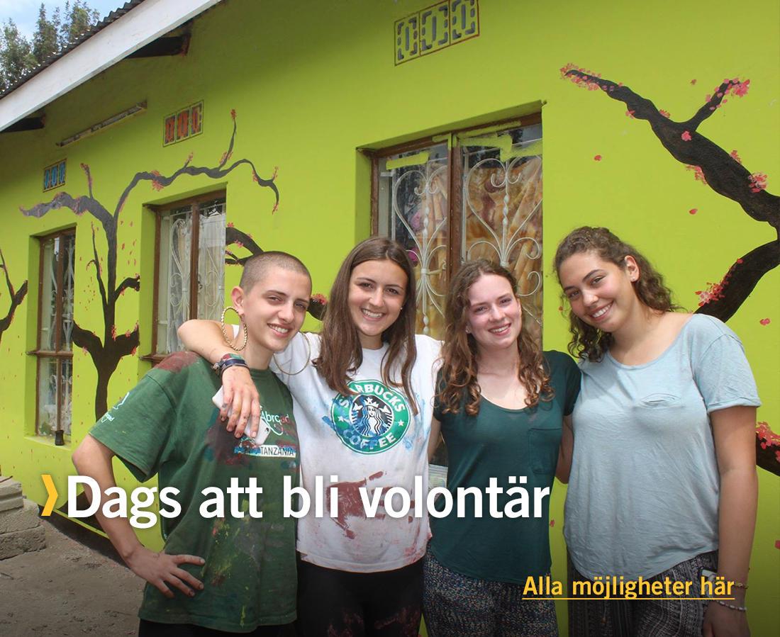 Dags att bli volontär