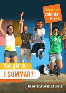 En grupp ungdomsvolontärer hoppar av glädje efter att ha målat ett hus vid ett av Projects Abroad många ungdomsprojekt