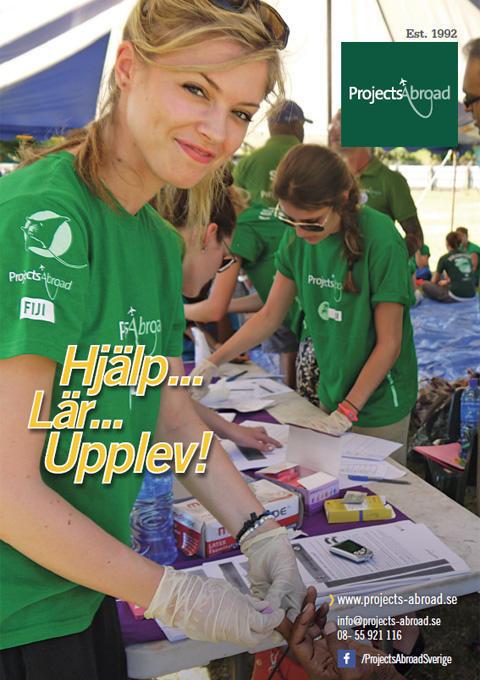 Projects Abroad Leaflet - Broschyr svenska