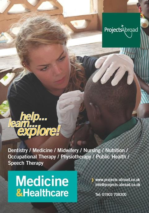 Projects Abroad Leaflet - Medicin & Hälsa