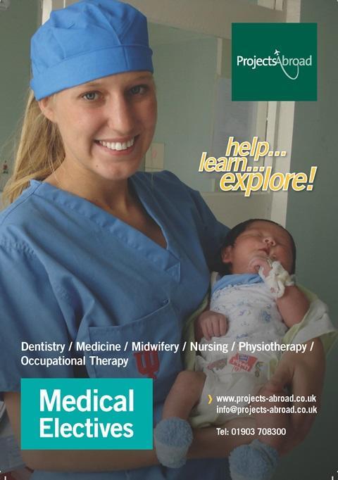 Projects Abroad Leaflet - Medicinsk praktik