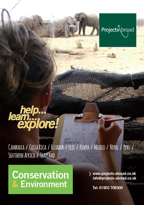 Projects Abroad Leaflet - Natur & miljö