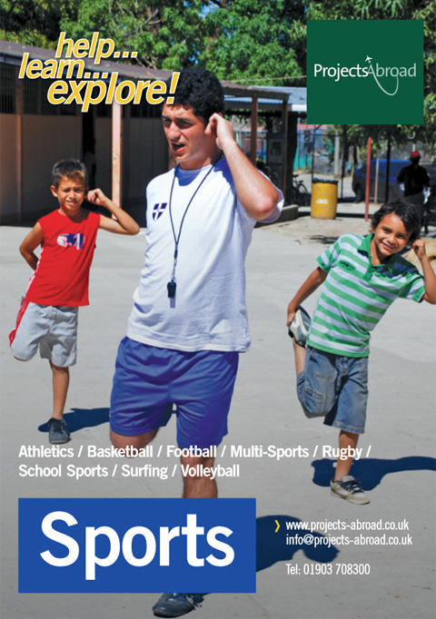 Projects Abroad Leaflet - Sport