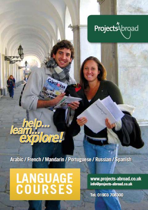 Projects Abroad Leaflet - Språkkurser