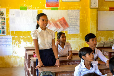 volontärarbete i Asien