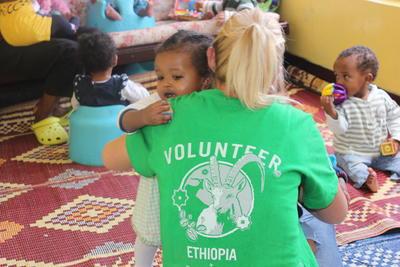 Volontärarbete i Afrika