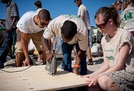 Volontär i Sydafrika : Bygg