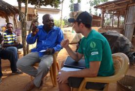 Praktisera eller volontärarbeta med internationell utveckling : Togo
