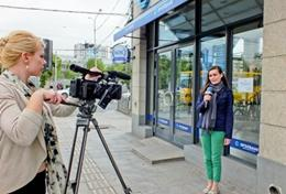 Journalistpraktik utomlands- Tidning, TV och Radio : Journalistik