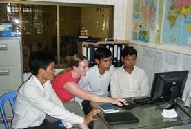 Volontär i Kambodja : Journalistik