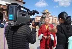 Volontär i Mongoliet : Journalistik