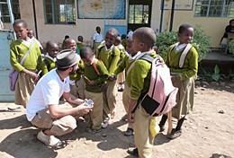 Volontär i Tanzania : Journalistik