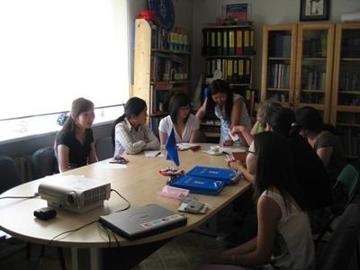 Staff and volunteers consult on Human Rights issues in Mongolia