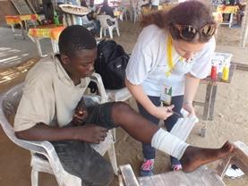 Volontärarbete vid folkhälsoprojekt utomlands : Togo