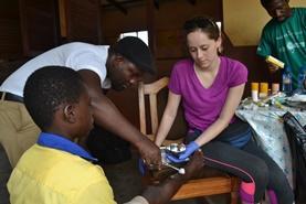 Volontärarbete vid folkhälsoprojekt utomlands : Madagaskar