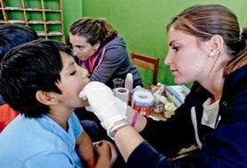 Volontär i Peru : Medicin & Hälsa