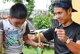 Volontärarbete eller praktik inom sjukgymnastik- fysioterapi utomlands : Filippinerna