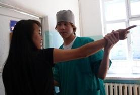 Volontär i Mongoliet : Medicin & Hälsa