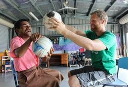 Volontärarbete eller praktik inom sjukgymnastik- fysioterapi utomlands : Samoa