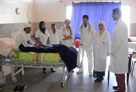 Volontärarbeta som sjuksköterska utomlands : Marocko