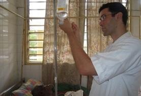 Volontärarbeta som sjuksköterska utomlands : Togo