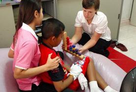Praktik eller volontärarbete inom vård utomlands : Arbetsterapi
