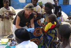 Praktik eller volontärarbete inom vård utomlands : Folkhälsa