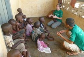 Praktik eller volontärarbete inom vård utomlands : Talterapi