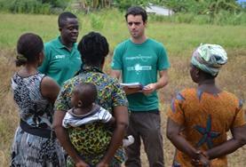 Volontär i Ghana : Mikrofinansiering