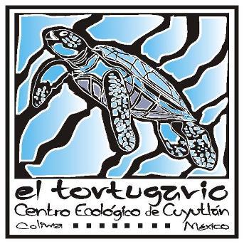 Logo för sköldpaddscentret i Mexiko
