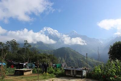 Ghandruk är byn där Projects Abroads naturvårdsprojekt i Nepal har sin bas
