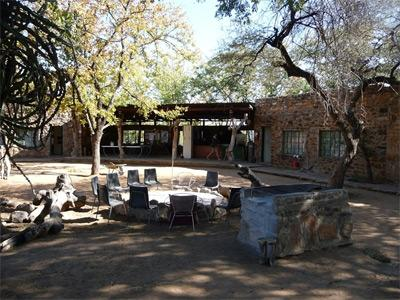 Site of the Conservation & Environment project for volunteers in South Africa & Botswana