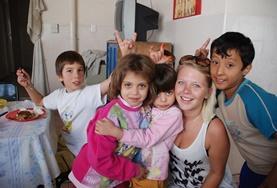 Volontärarbete i Bolivia : Omsorg