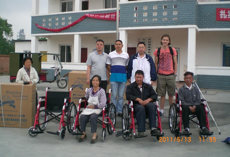 Volontär med barn, ungdomar och äldre : Kina