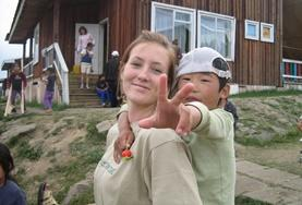 Volontär i Mongoliet : Omsorg