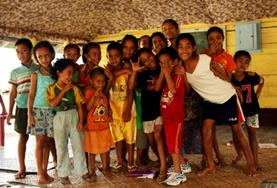 Volontär med barn, ungdomar och äldre : Samoa