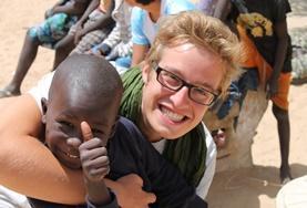 Volontär i Senegal : Omsorg