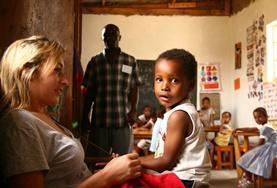 Volontär i Tanzania : Omsorg
