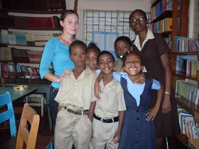 Volunteer in social work for the child's rights initiative in Jamaica