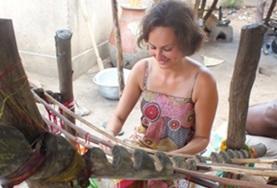 Volontärarbeta med konst och kultur : Togo