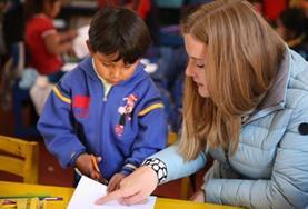Volontär i Peru : Omsorg