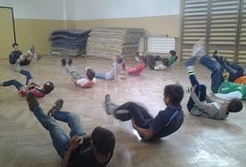 Volontärarbeta som fotbollstränare utomlands : Rumänien