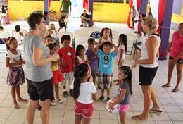 Volontär eller praktikant i Belize : Sport