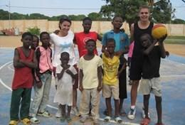 Volontär i Ghana : Sport
