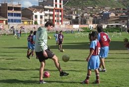 Volontär i Peru : Sport