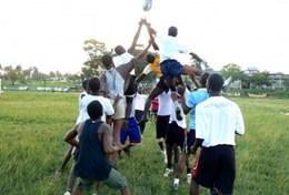 Volontär i Ghana : Sports