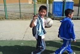 Volontärarbeta med skolidrott utomlands : Mongoliet