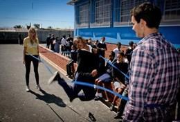 Volontärarbeta med skolidrott utomlands : Sydafrika