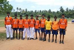 Volontärarbeta med skolidrott utomlands : Sri Lanka