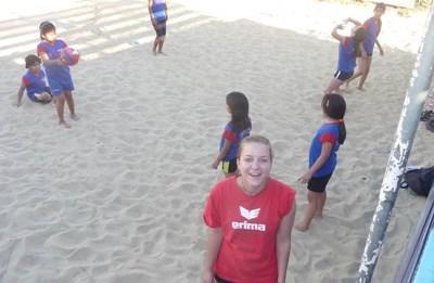 Volontärarbete i Bolivia : Sport